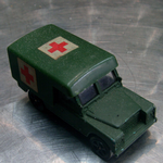 CORGI JUNIORS Land Rover 3 series army Ambulance 90's diecast model @SOLD@